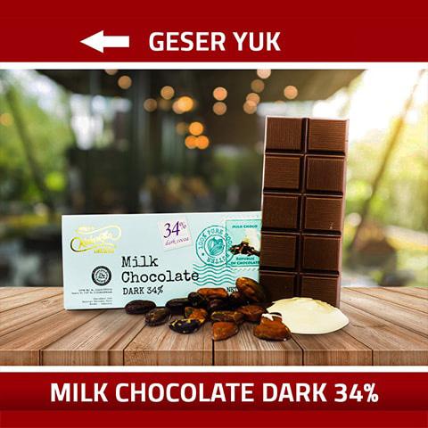 Kakakoa Bar Milk CHocolate 34%-min