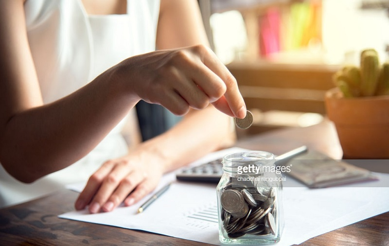 ilustrasi menabung