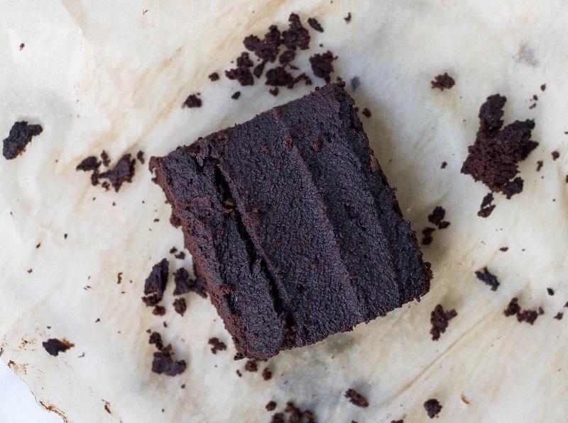 foto brownies basah cara membuat kue coklat mudah
